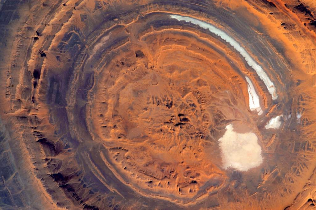 #EarthArt is in the eye of the beholder. #YearInSpace  - via Twitter on July 10, 2015