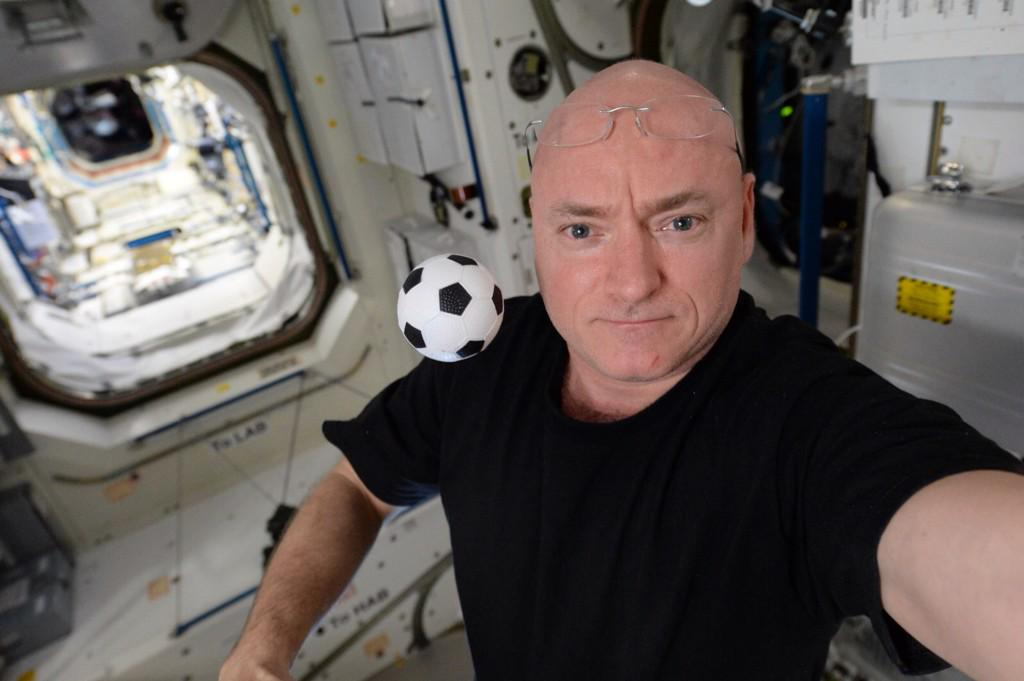 After 2 months alone, me and my little friend Wilson will soon have company on the US segment of @Space_Station.  - via Twitter on July 22, 2015