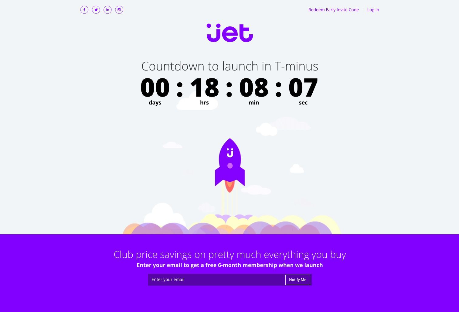 Not even running yet and Jet.com may command a market value of $3 billion.