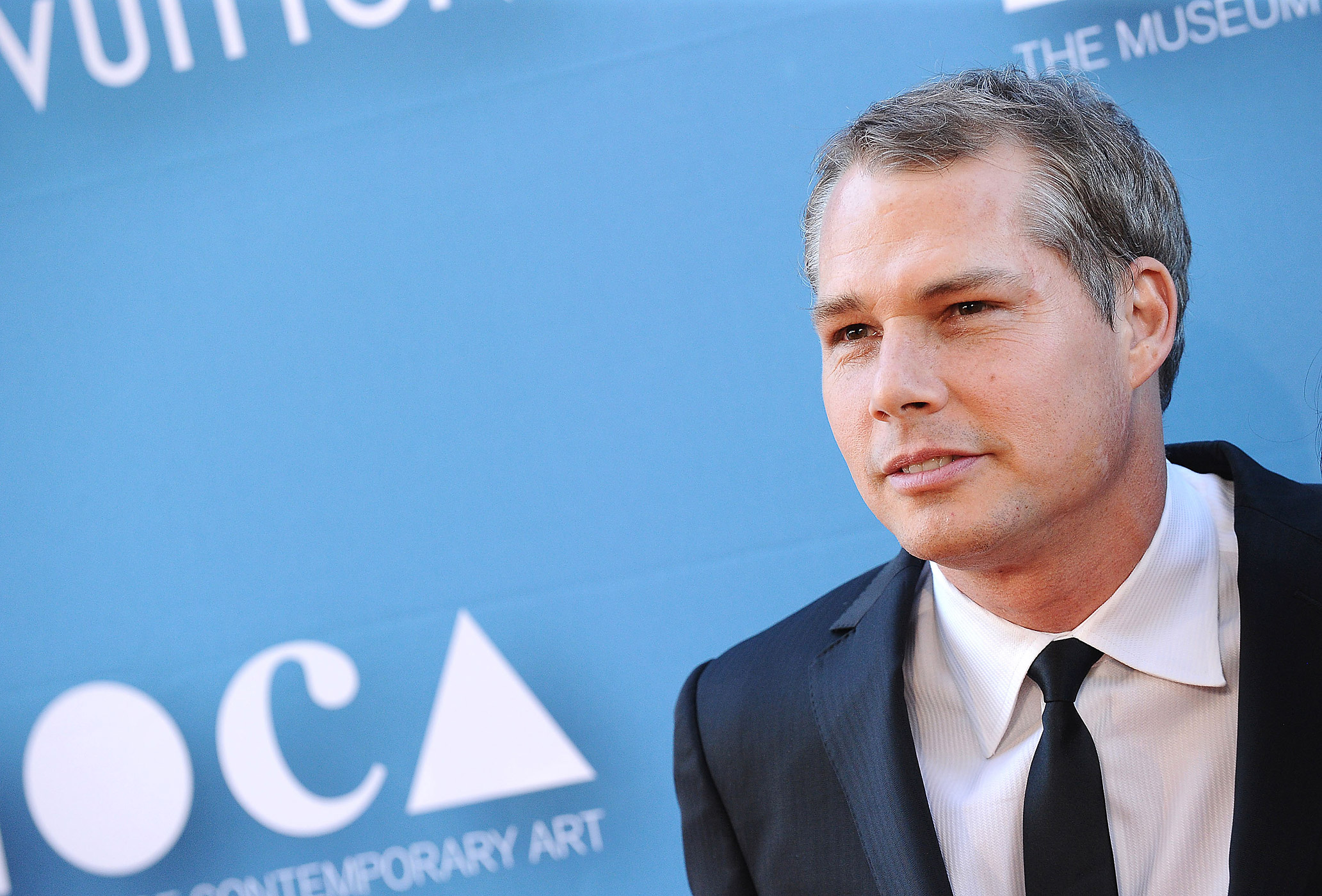 Shepard Fairey attends the 2015 MOCA Gala at The Geffen Contemporary at MOCA on May 30, 2015 in Los Angeles.