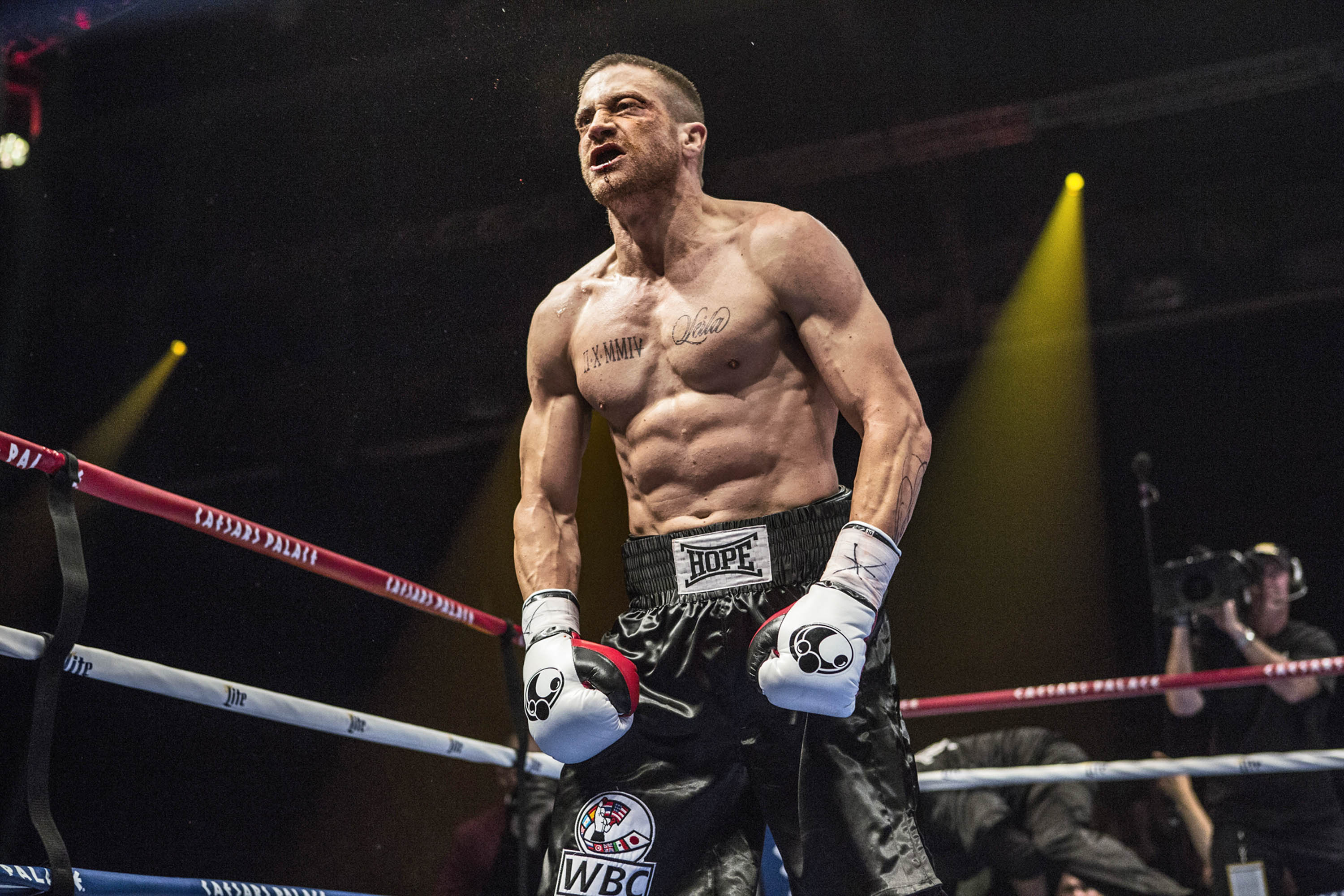 As a boxing champ, Gyllenhaal transforms more than his body.