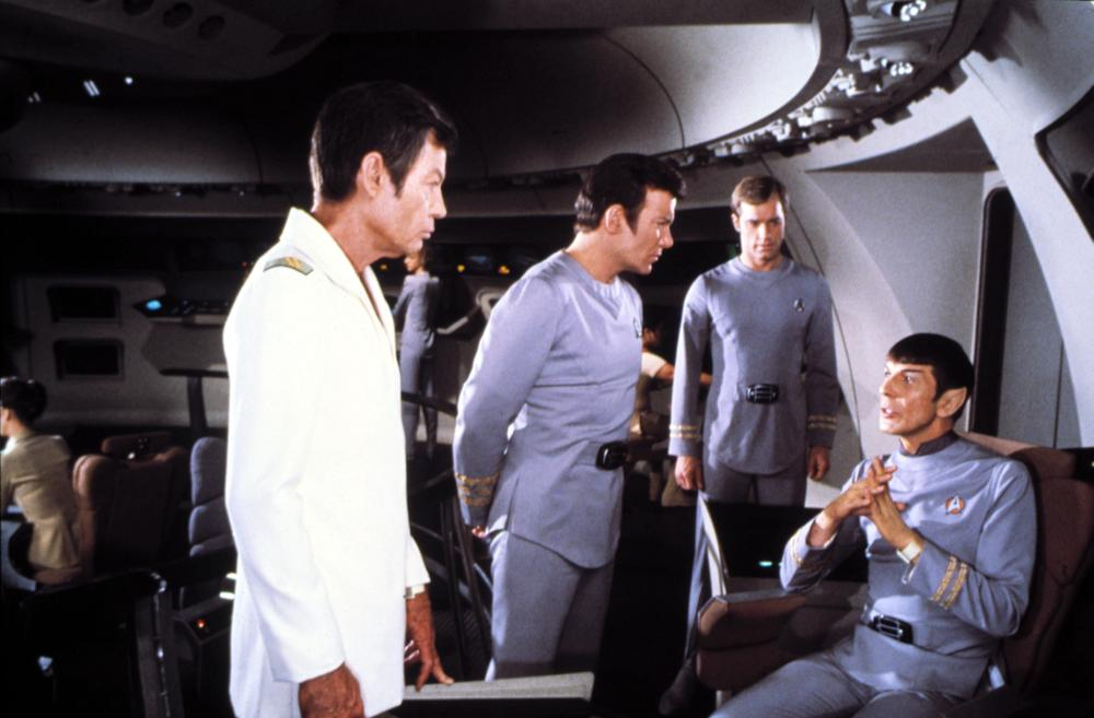 A scene from  Star Trek: The Motion Picture.