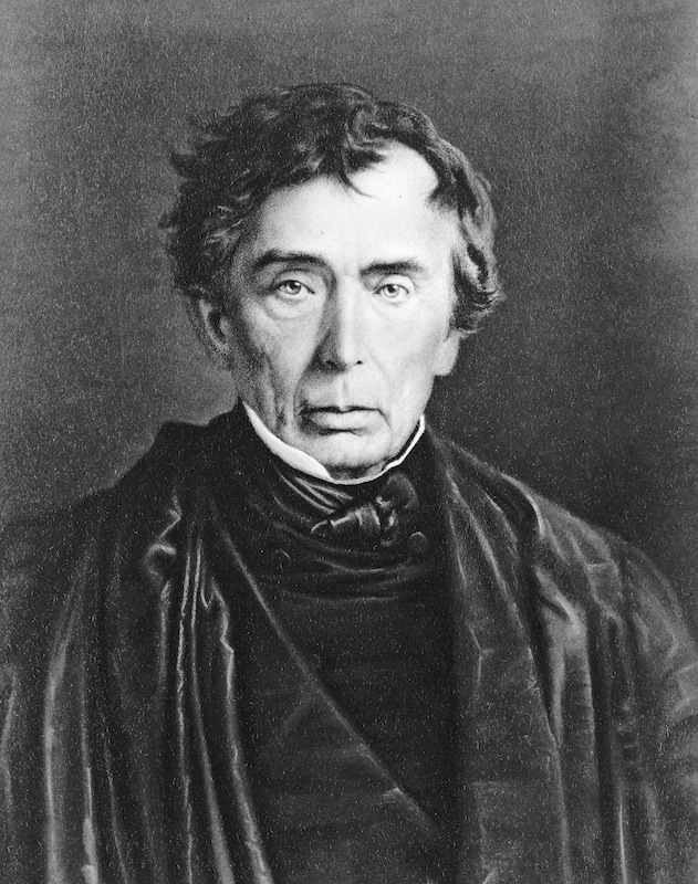 Roger B, Taney, in a painting by Anderson