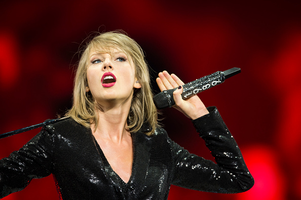 Taylor Swift at the 1989 World tour in Dublin on June 30, 2015.