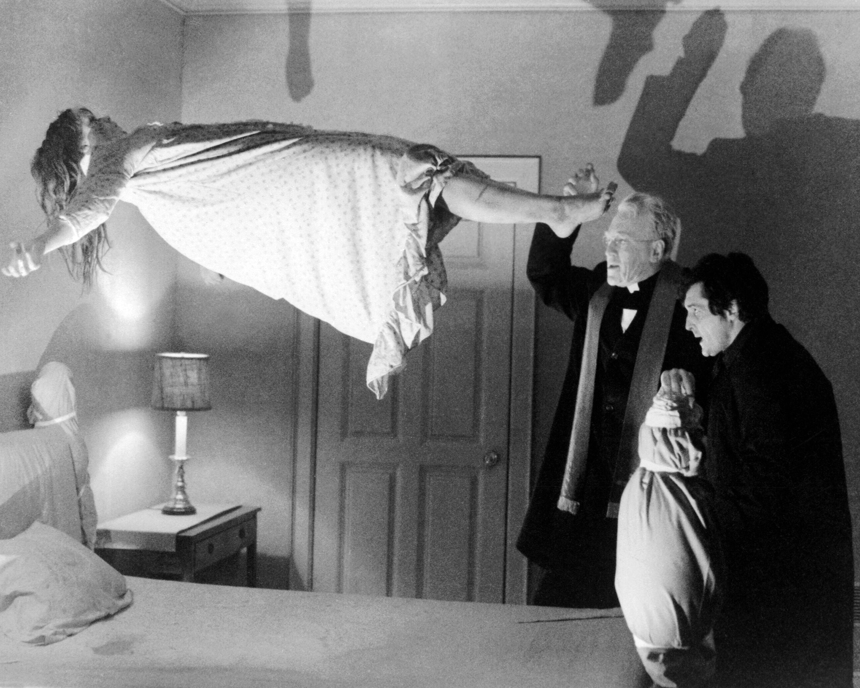 A scene from 'The Exorcist'