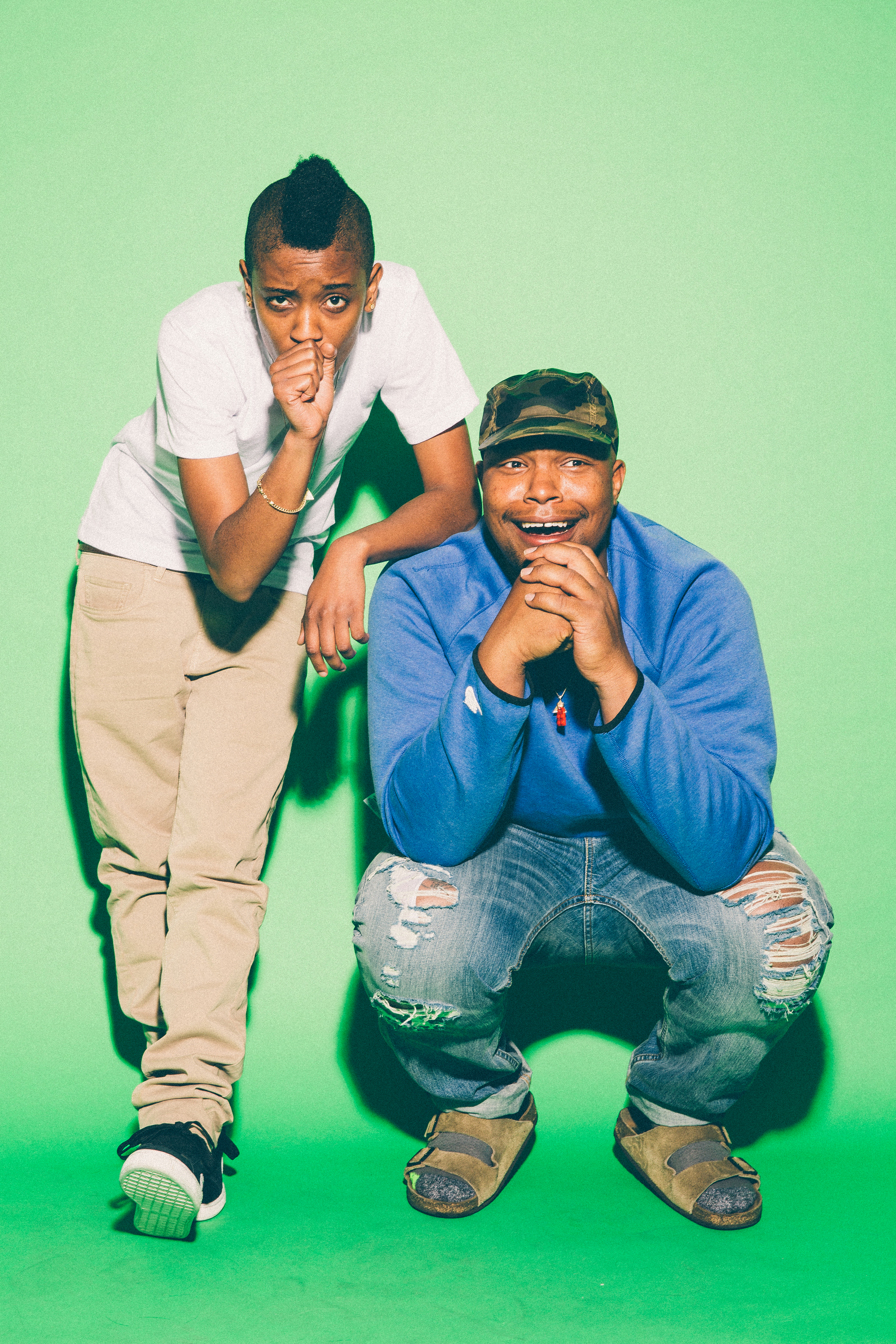 Syd tha Kid and Matt Martians of the Internet