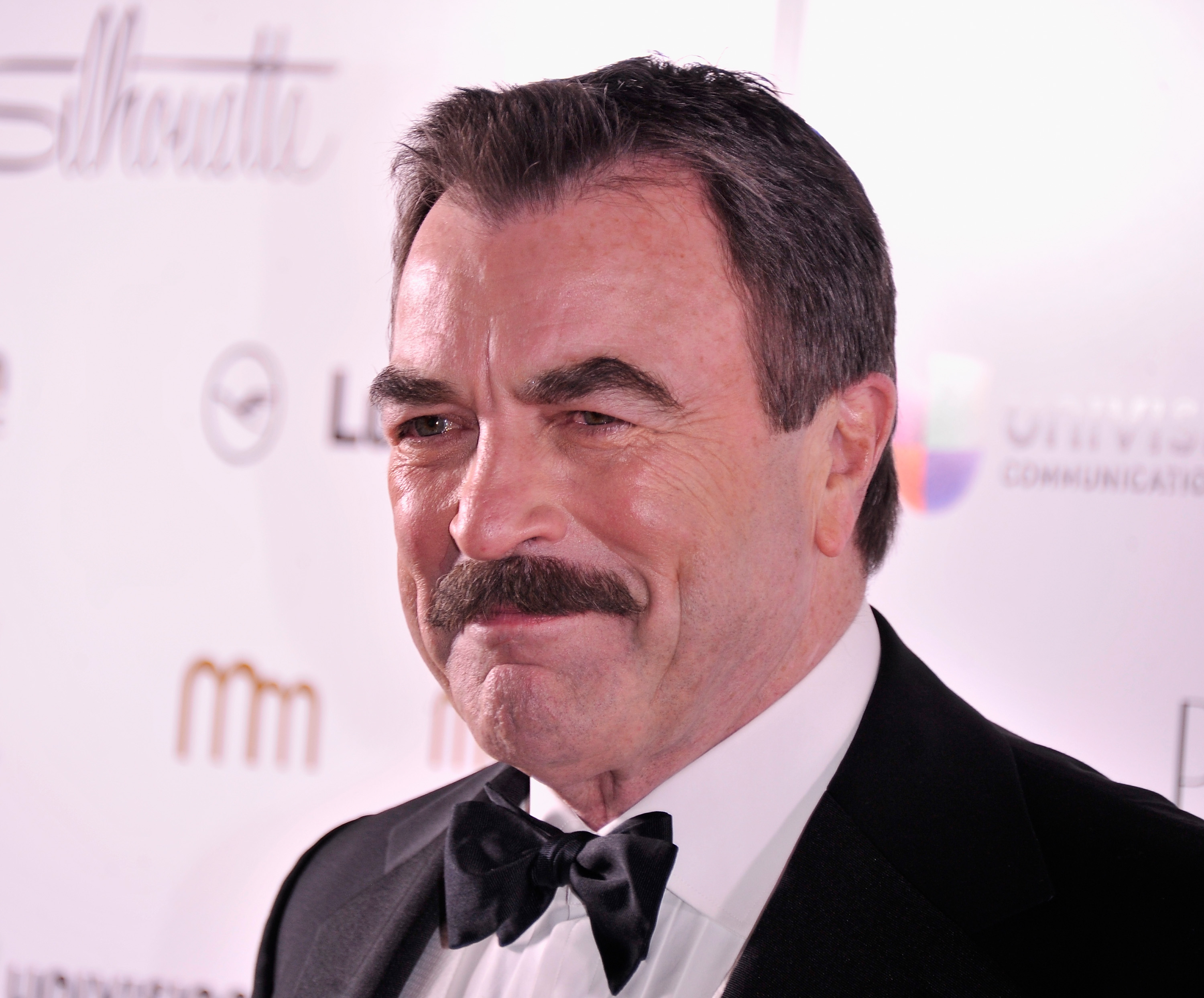 Actor Tom Selleck attends the PowerWomen 2013 awards on November 14, 2013 in New York City.