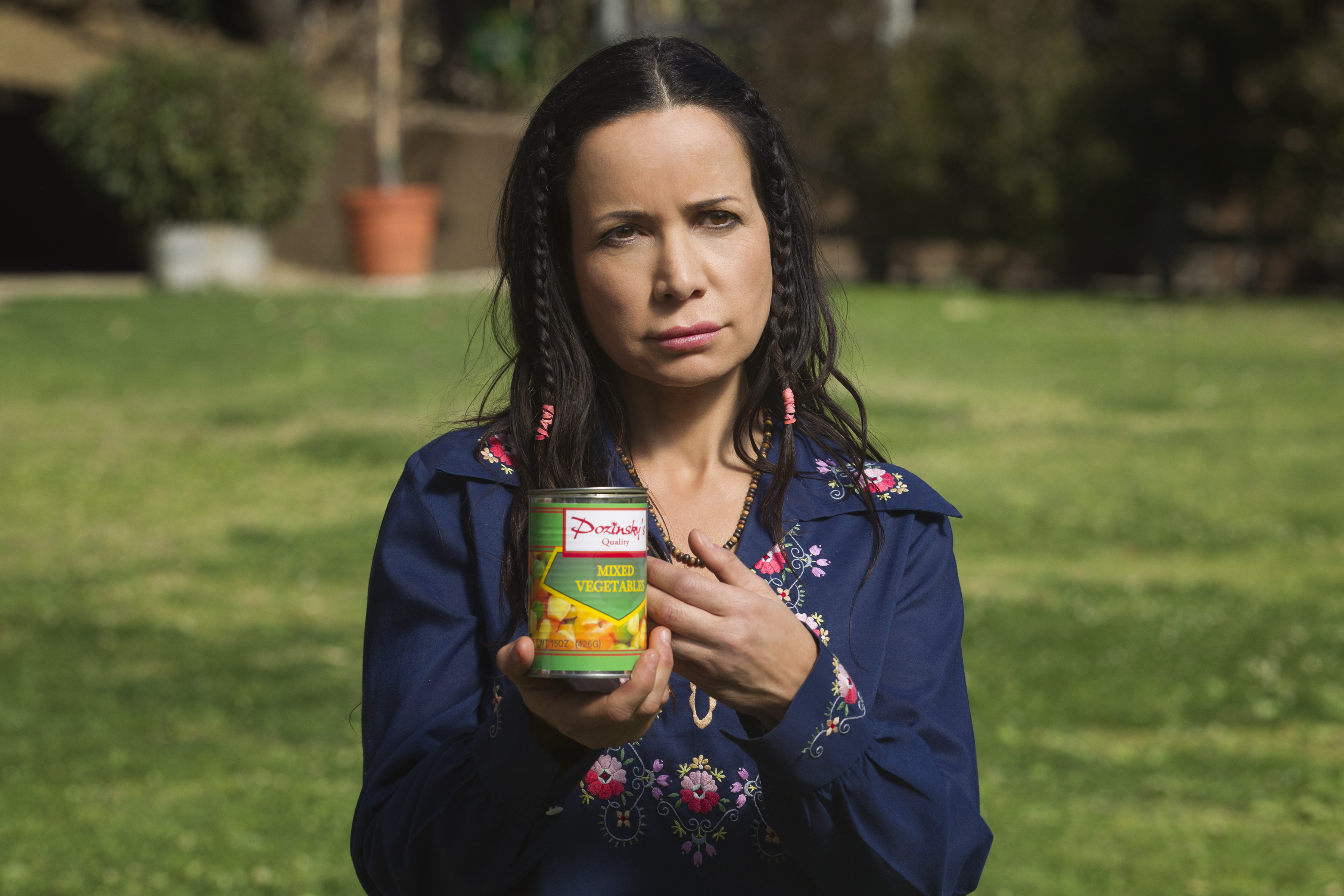 Janeane Garofalo returns to Camp Firewood in Netflix's Wet Hot American Summer: First Day of Camp.