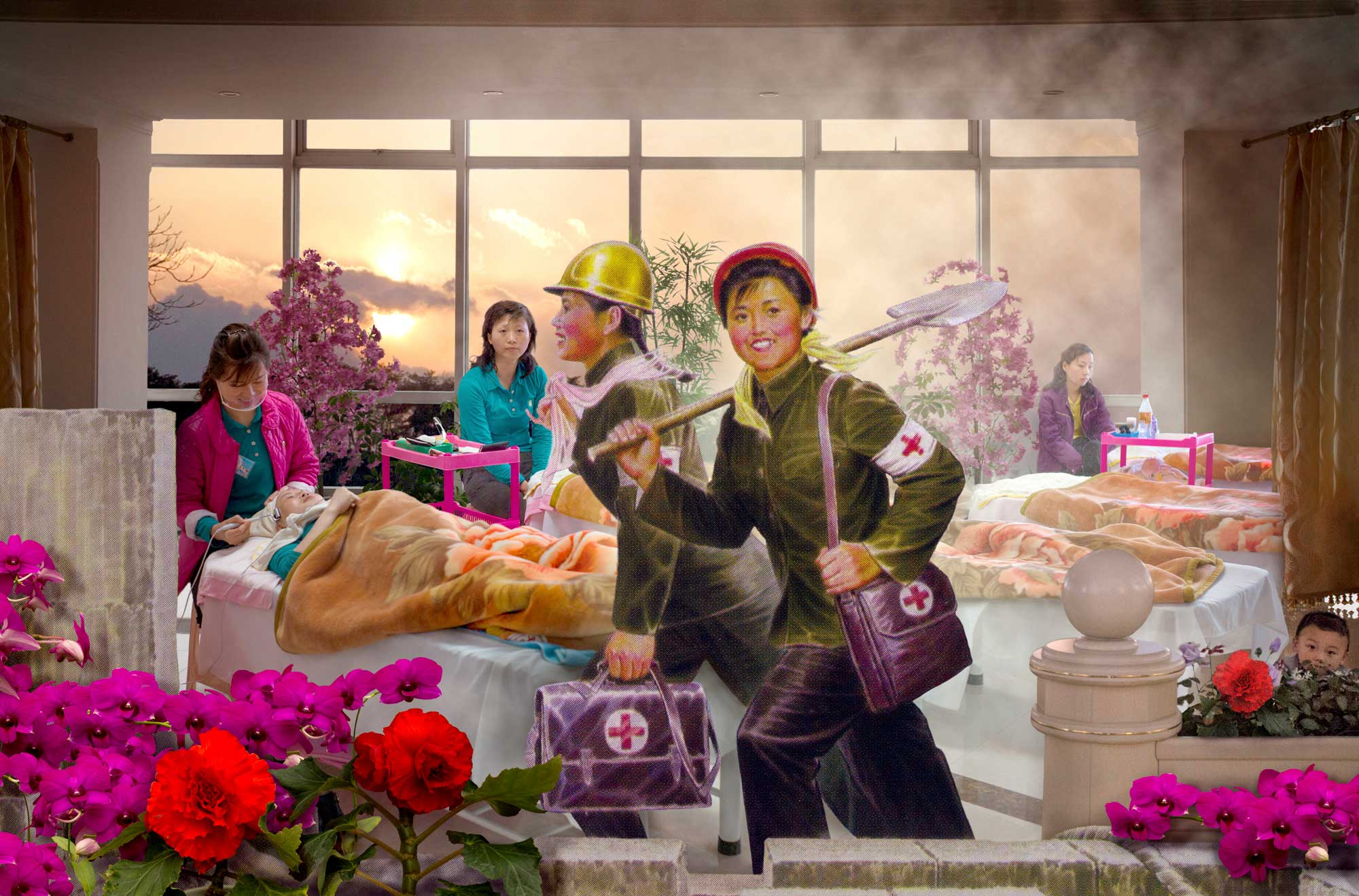 Health Workers. From series North Korea - A Life between Propaganda and Reality.