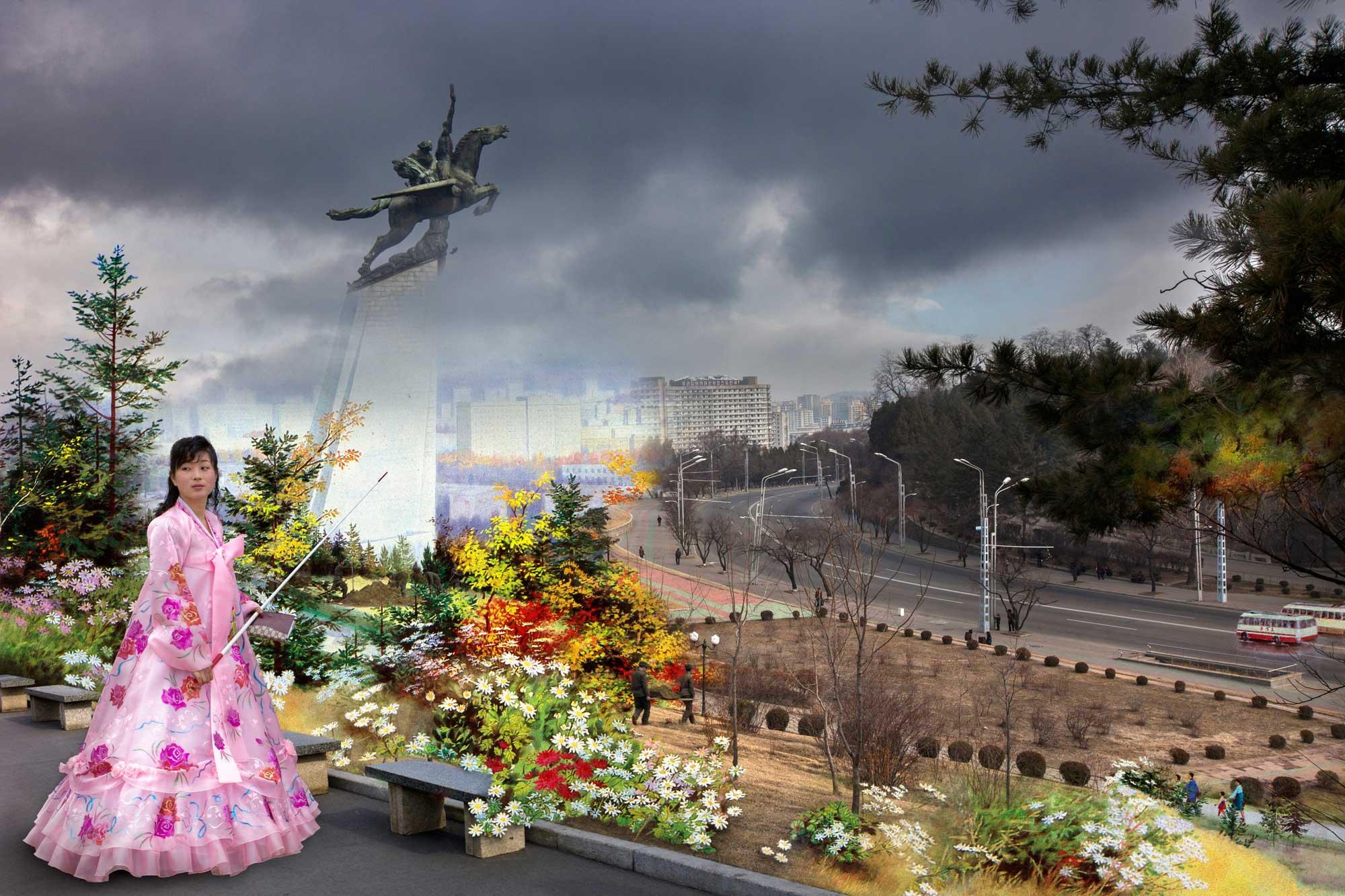 Propaganda Teachings. From series North Korea - A Life between Propaganda and Reality.