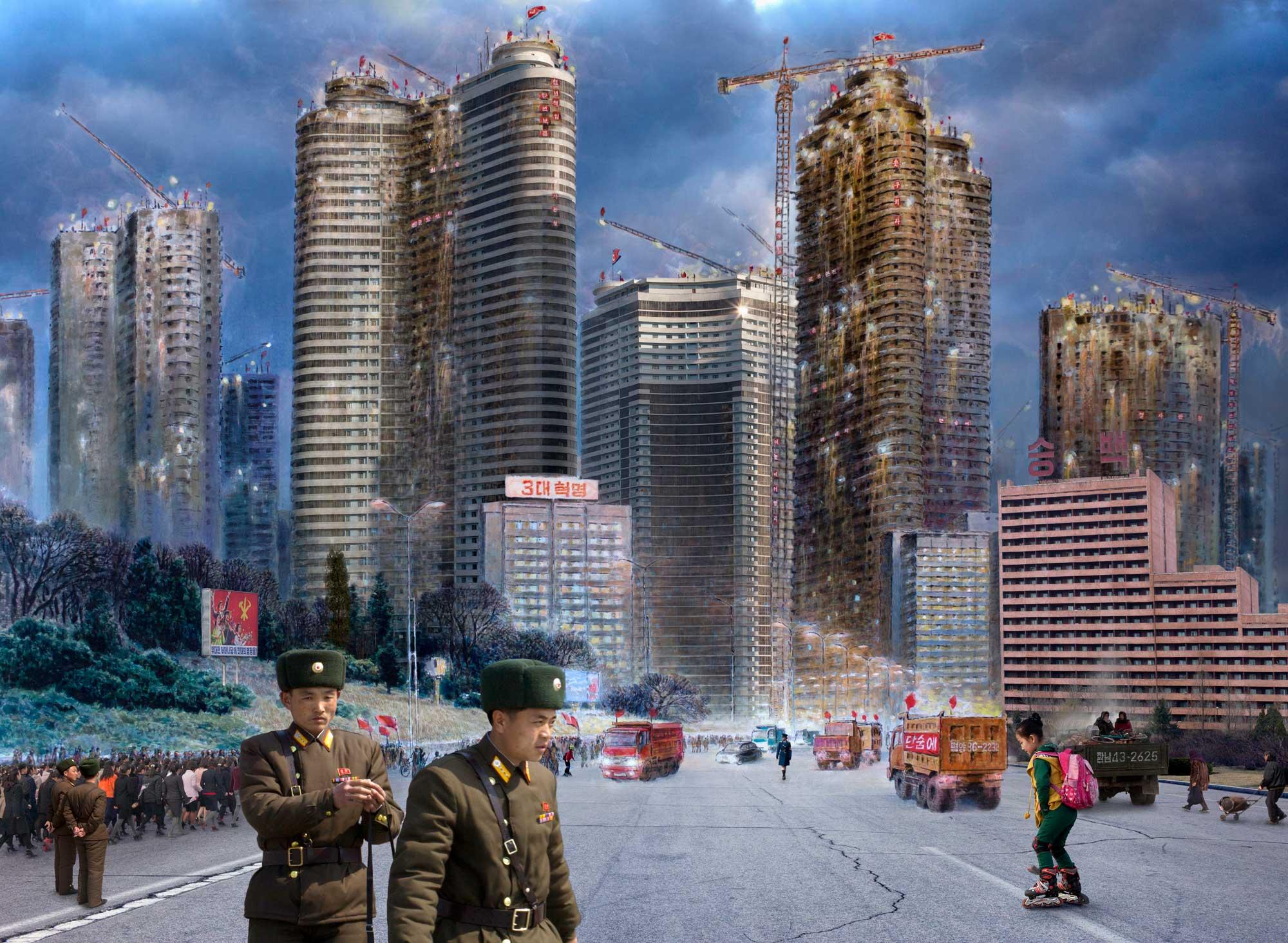 Pyongyang. From series North Korea - A Life between Propaganda and Reality.