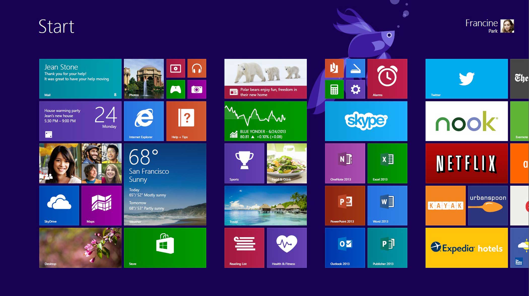 <strong>Windows 8.1</strong> released on 17, 2013, attempts to bridge the chasm gap between touch and PC interfaces, offering users their choice of Start screens. By now, tech pundits have a theory: every release of Windows alternates between hits and misses, setting expectations high for the next version, Windows 10.