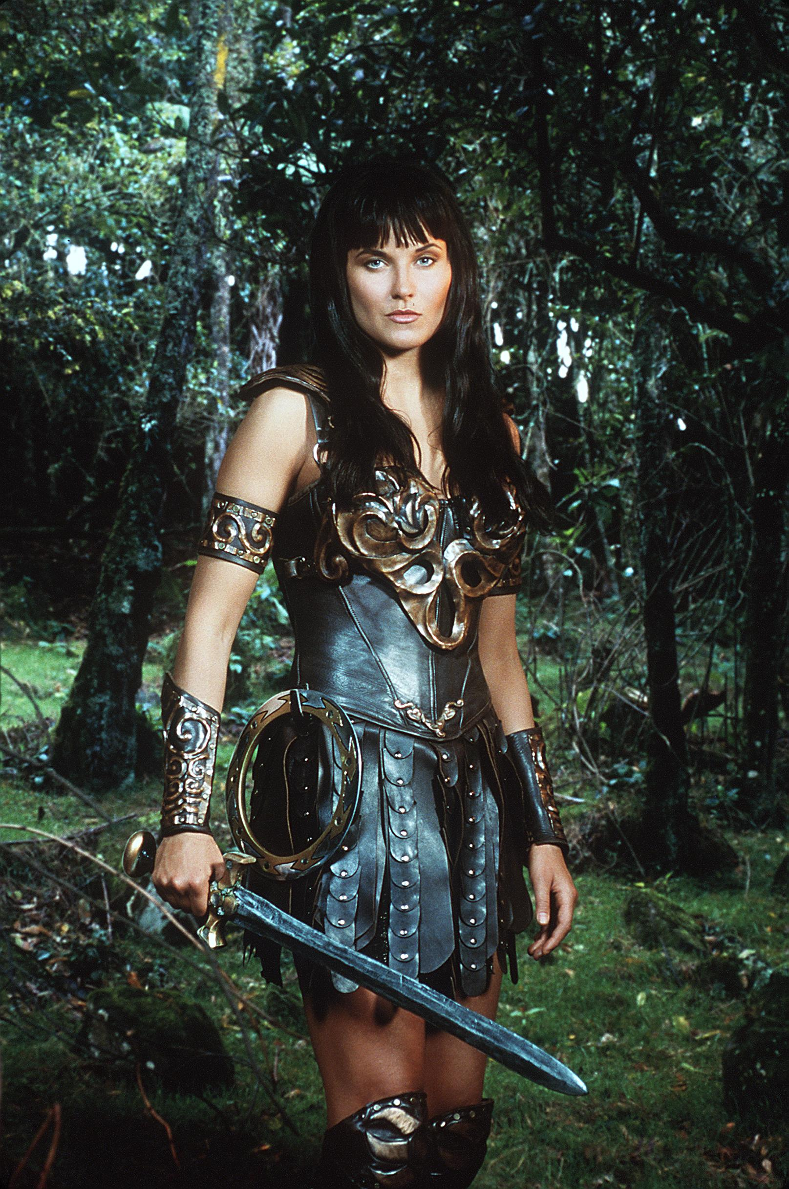 Lucy Lawless Stars In  Xena: Warrior Princess,  1999
