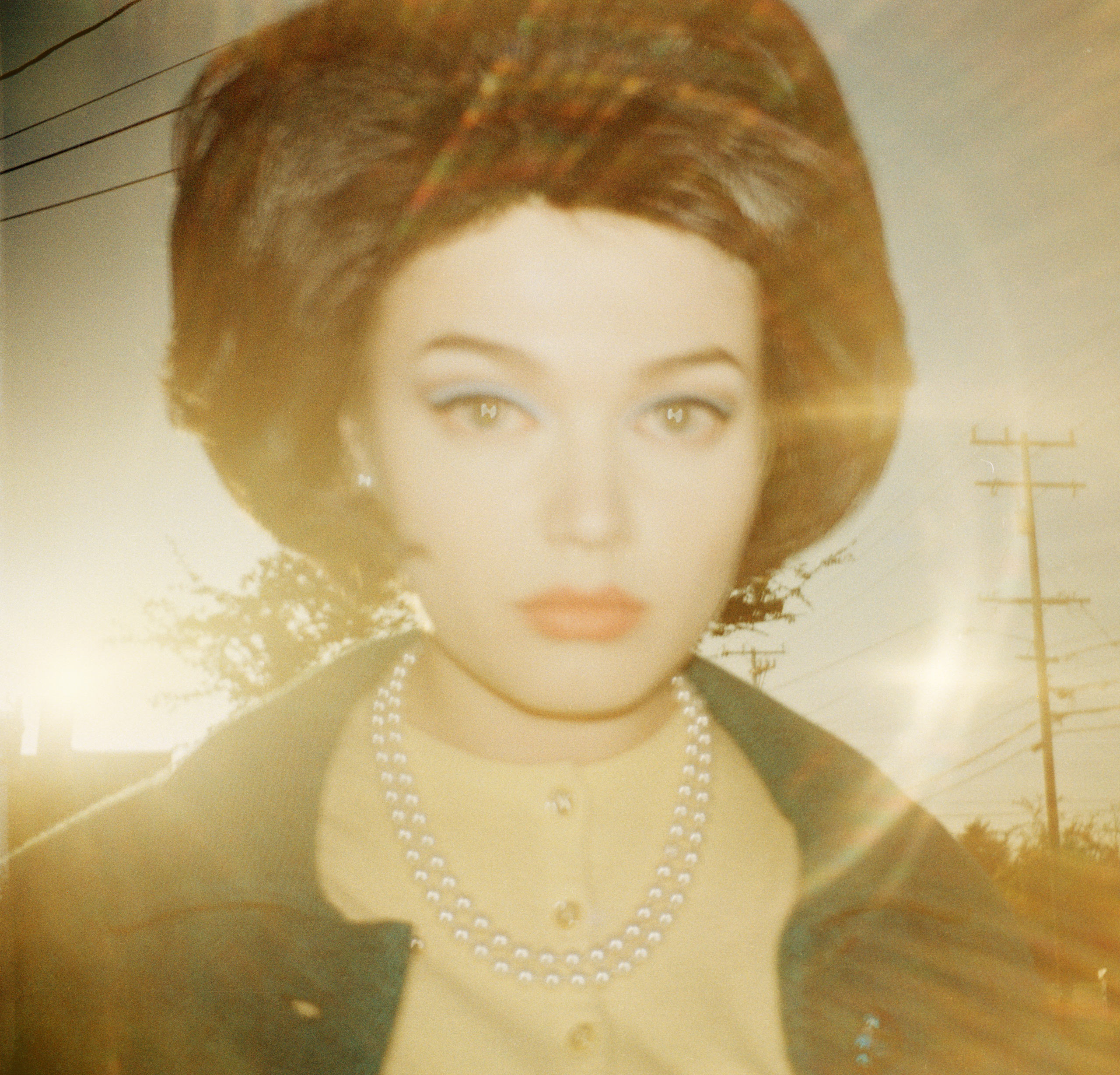 Todd Hido took this portrait using an original Kodak 126 Film Instamatic analog camera, whose shots compose entirely his Instagram feed.
