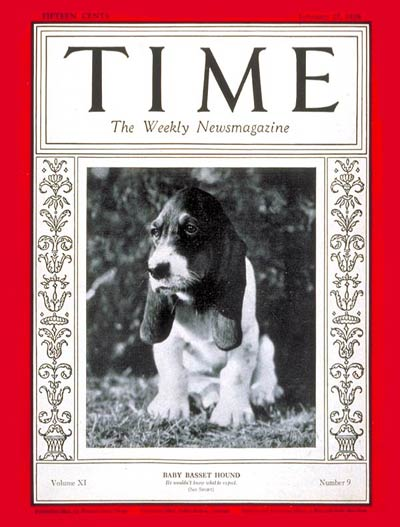 The Feb. 27, 1928, cover of TIME