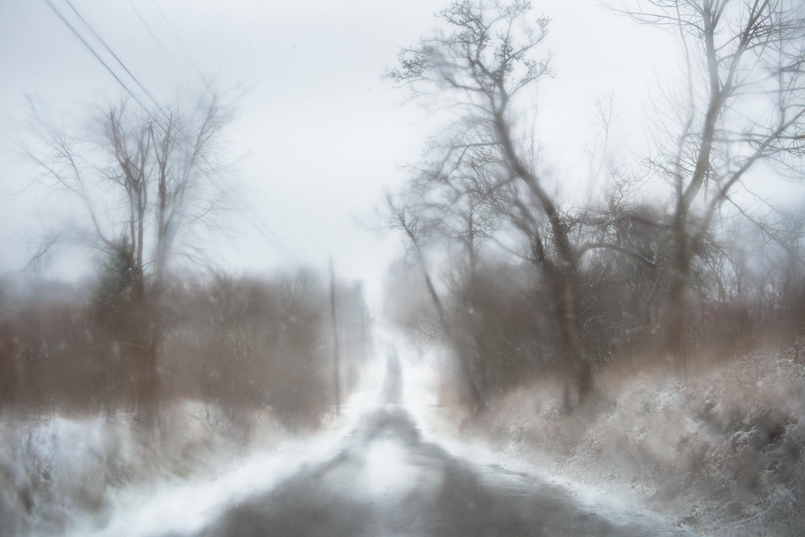 Todd Hido shot this photograph with a digital camera, a Nikon D800.