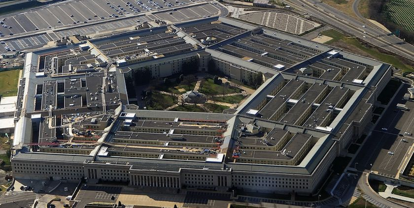The Pentagon building in Washington, D.C.