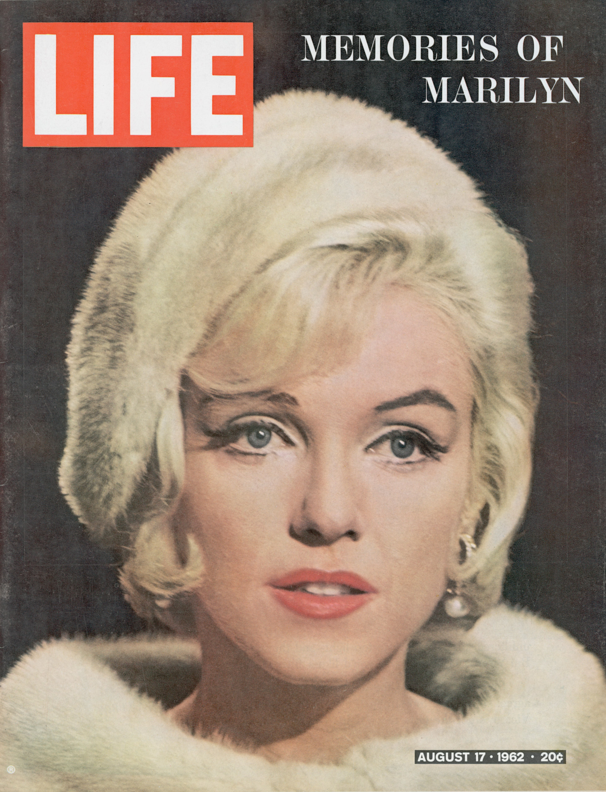 August 17, 1962 cover of LIFE magazine.