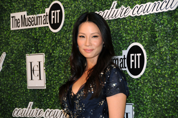 Lucy Liu attends the annual Fashion Award Honoring Carolina Herrera at the Lincoln Center in New York City on Sept. 3, 2014