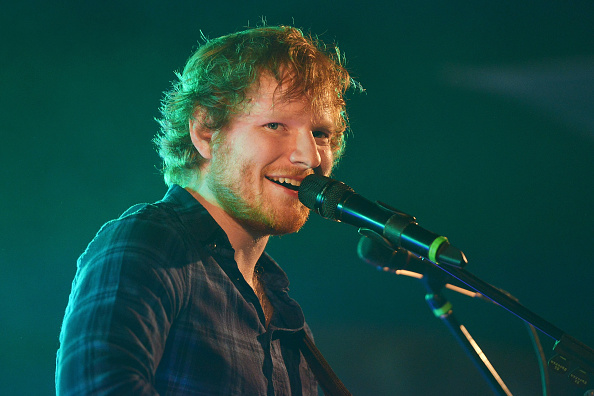 Ed Sheeran performs on day 2 of Latitude Festival at Henham Park Estate on July 17, 2015 in Southwold, England