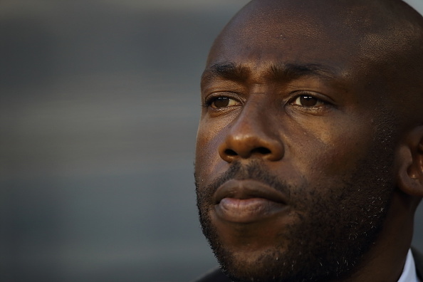 Paulo Wanchope the head coach / manager of Costa Rica during the Gold Cup Quarter Final between Mexico and Costa Rica at MetLife Stadium on July 19, 2015 in East Rutherford, New Jersey