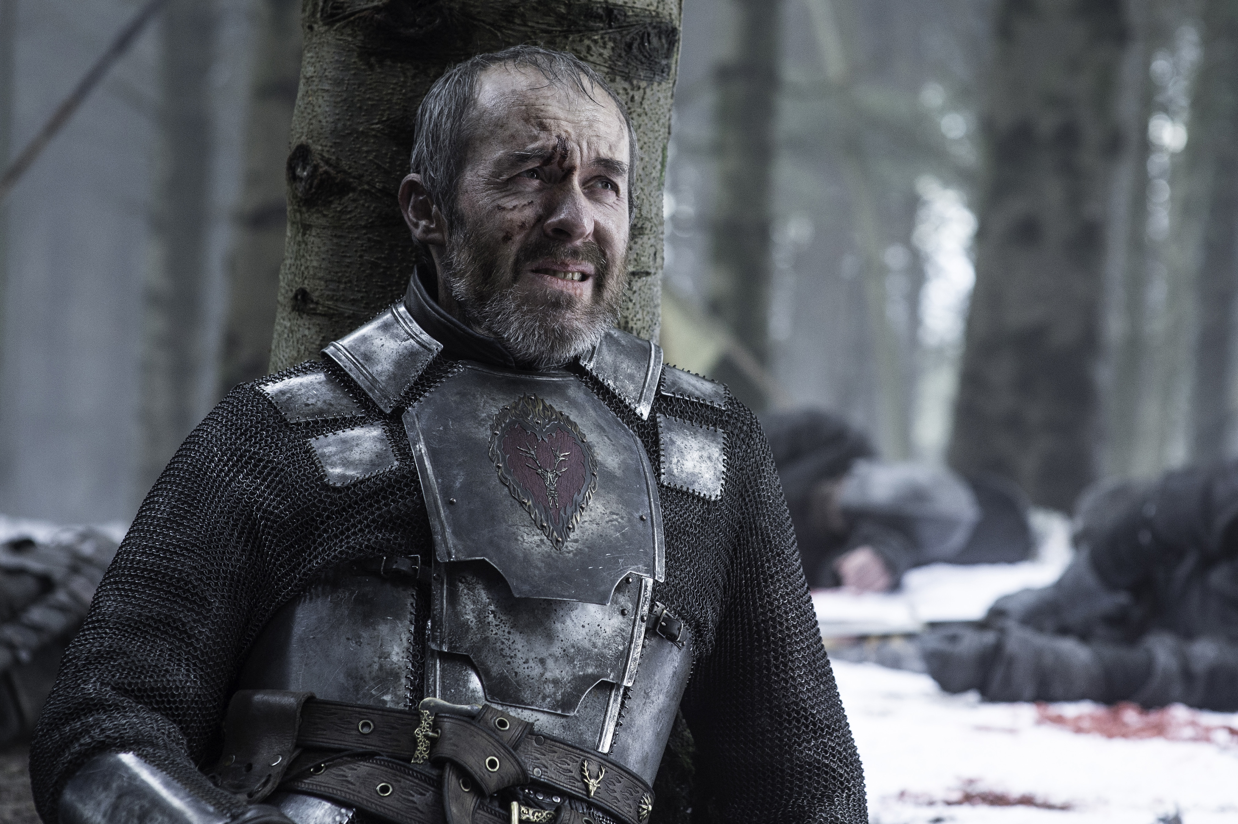 Stephen Dillane as Stannis Baratheon in Game of Thrones