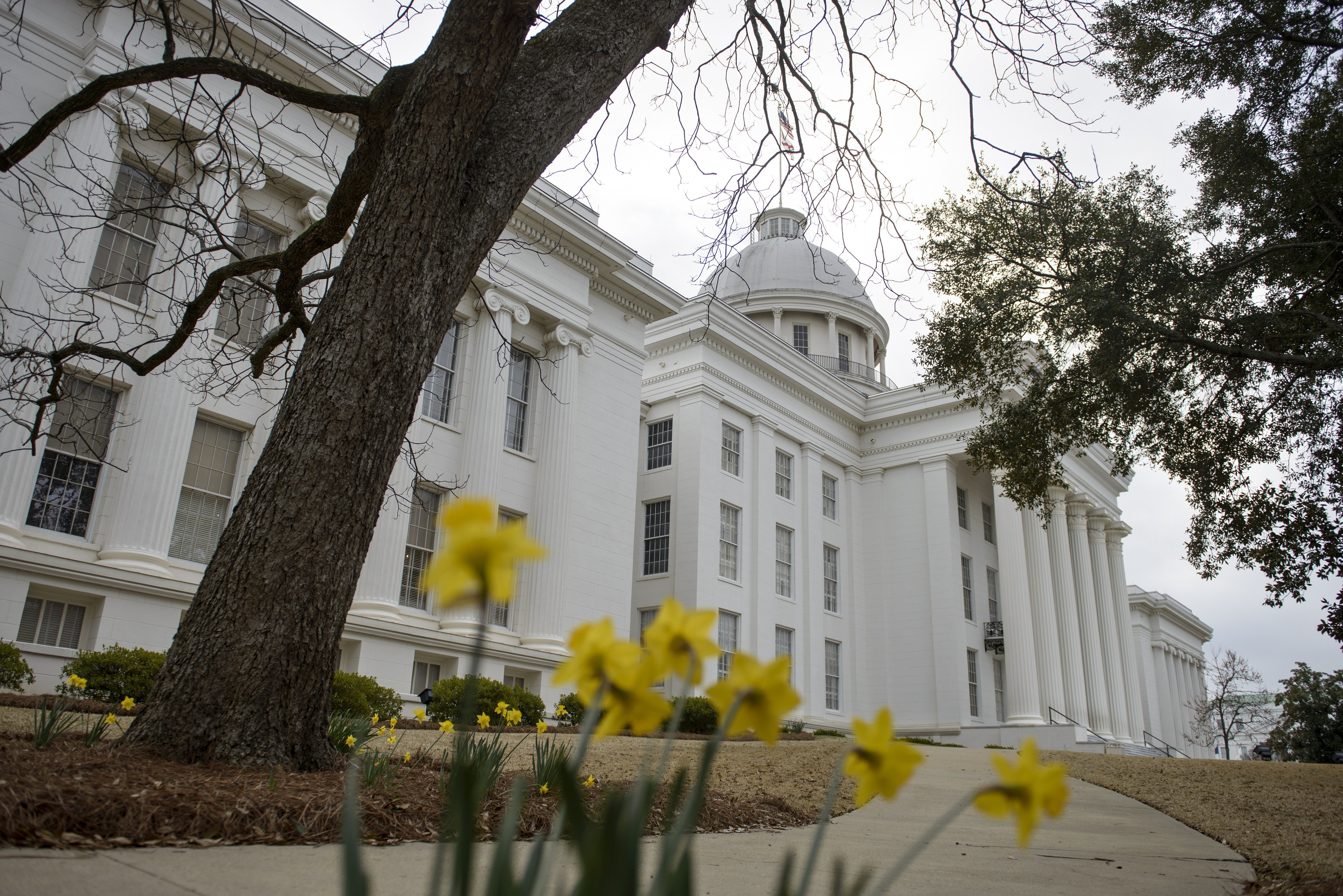 A view of the state capitol on March 6, 2015 in Montgomery, Alabama.