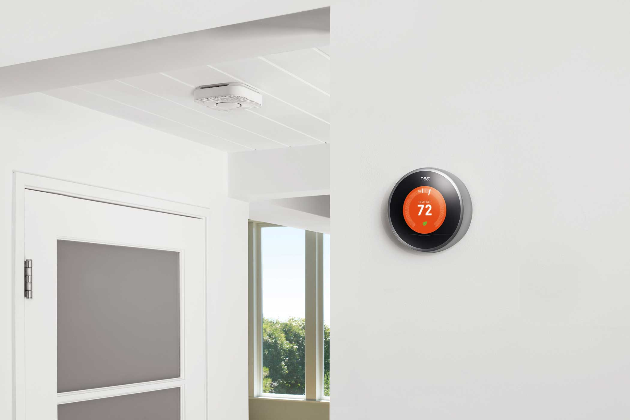 <b>Nest</b>: The smart thermostat company that Google bought for $3.2 billion in 2014 is the centerpiece in Google's plan to control the smart homes of the future.