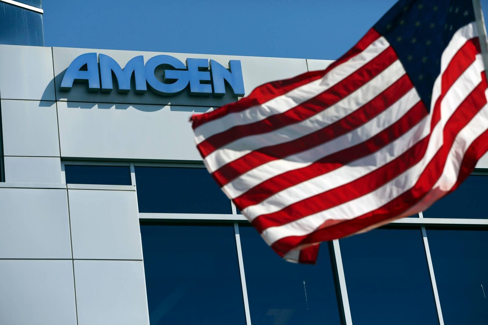 Amgen's office in  San Francisco on Oct. 21, 2013.