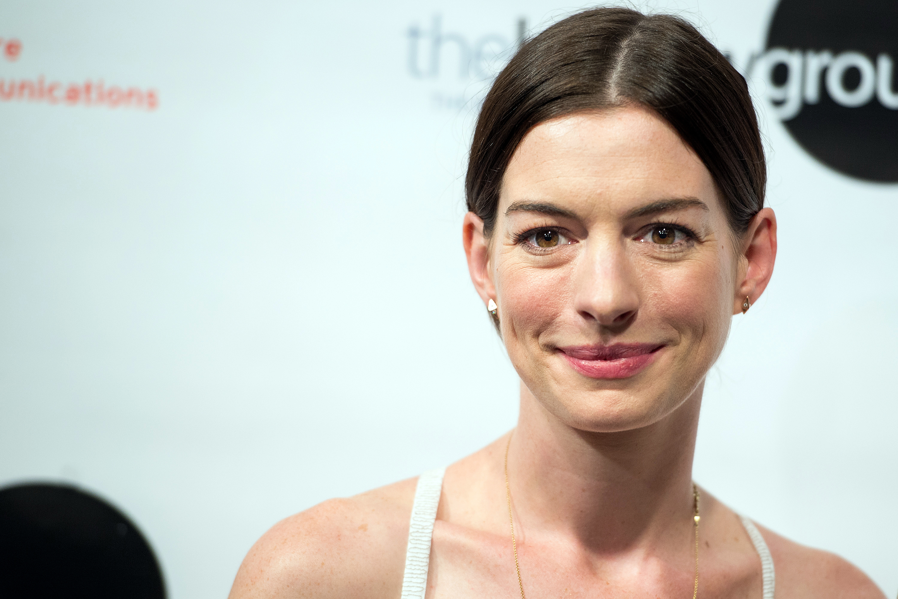 Actress Anne Hathaway attends  An Actor's Companion  book release at The Barrow Group on June 23, 2015 in New York City.