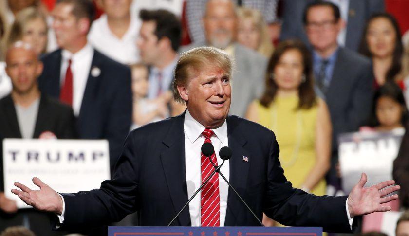 Republican presidential hopeful Donald Trump.