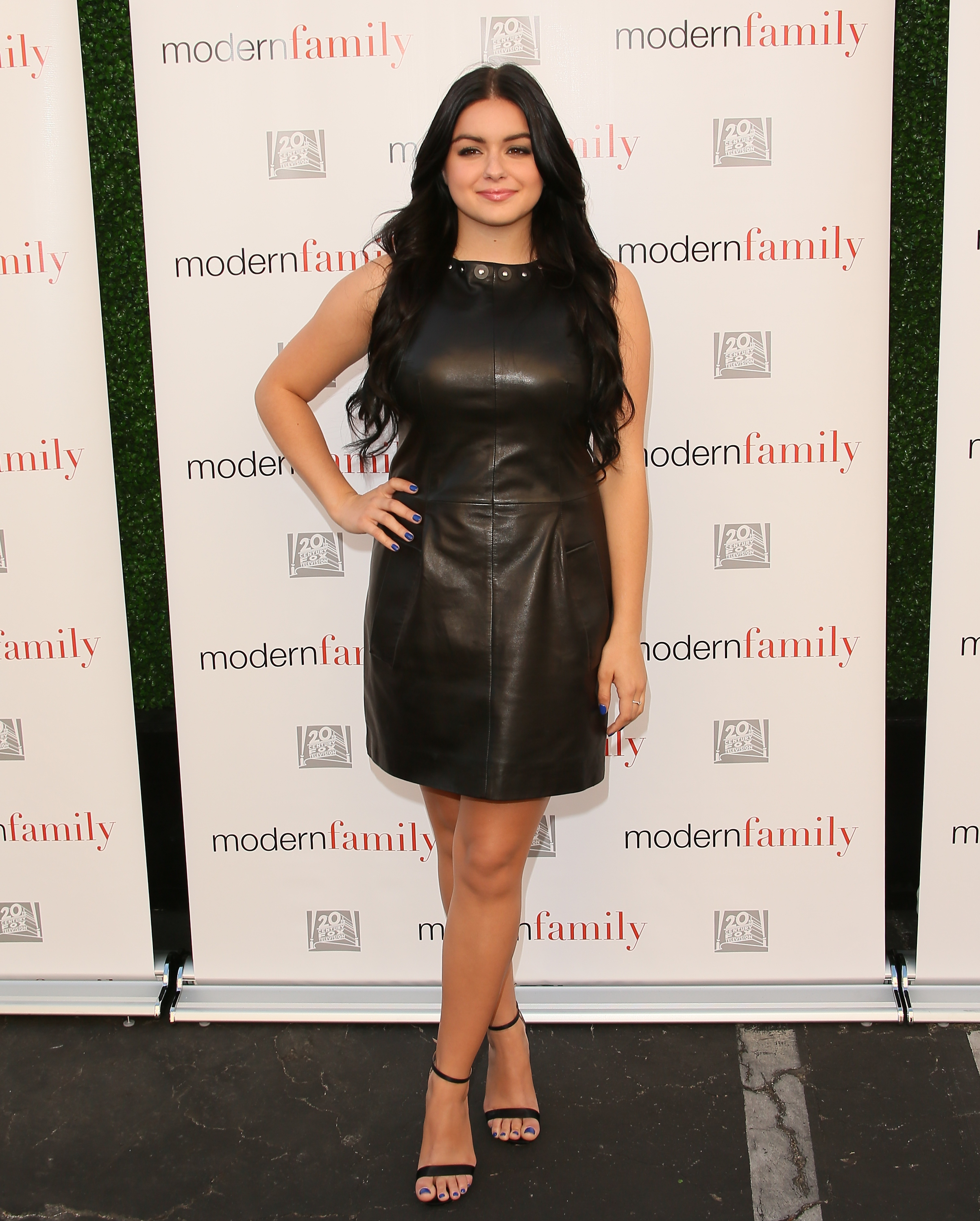 Ariel Winter attends the ATAS Screening of the 'Modern Family' Season Finale 'American Skyper' at the Fox Studio Lot on May 18, 2015 in Century City, California.