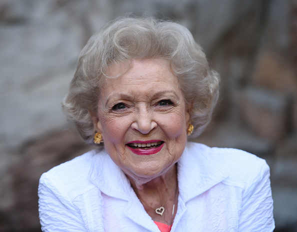 Betty White at The Greater Los Angeles Zoo Association's (GLAZA) 45th Annual Beastly Ball in Los Angeles on June 20, 2015.