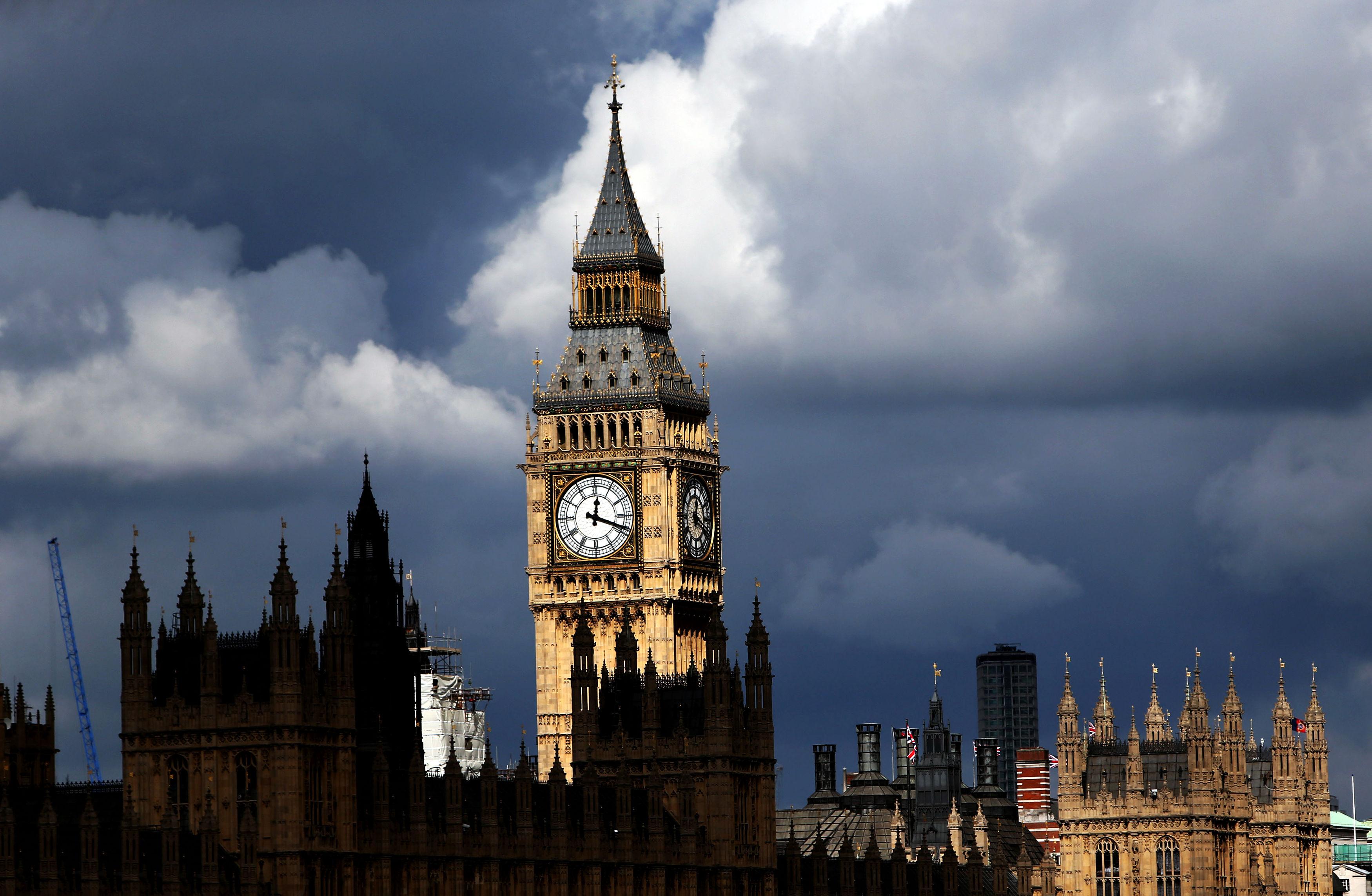 Big Ben on Sept. 19, 2013.