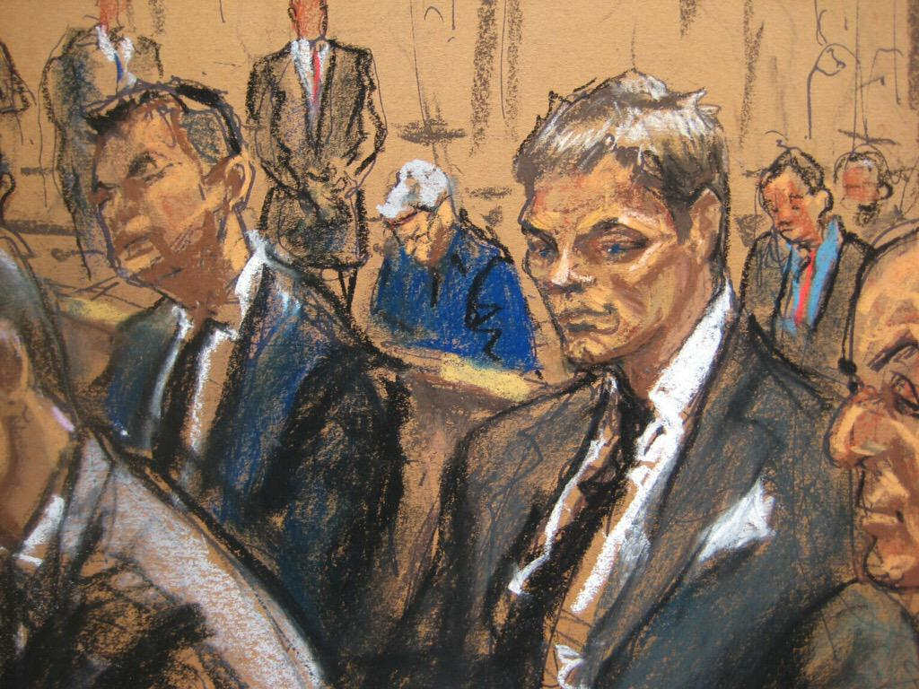 Tom Brady appears in United States District Court on Aug. 12, 2015.