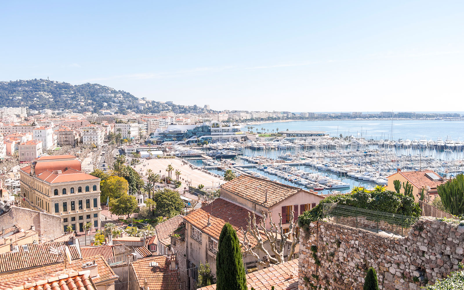 Cannes skyline