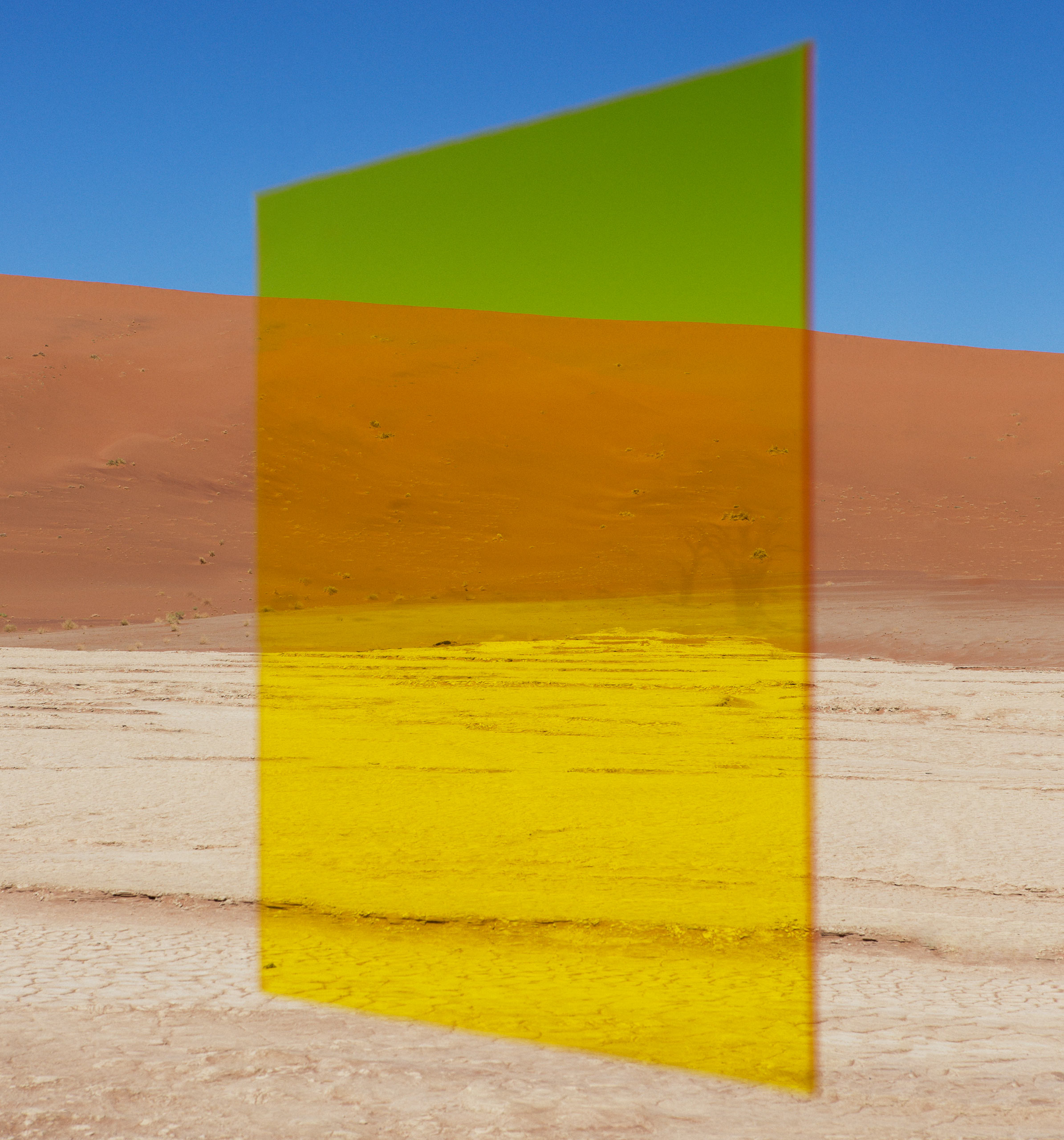 Yellow Vlei, from the series  Axiom  2014.