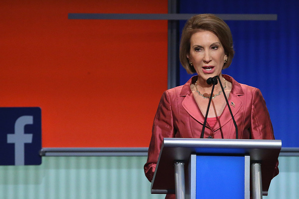 Carly Fiorina at the Cleveland Fox News debate