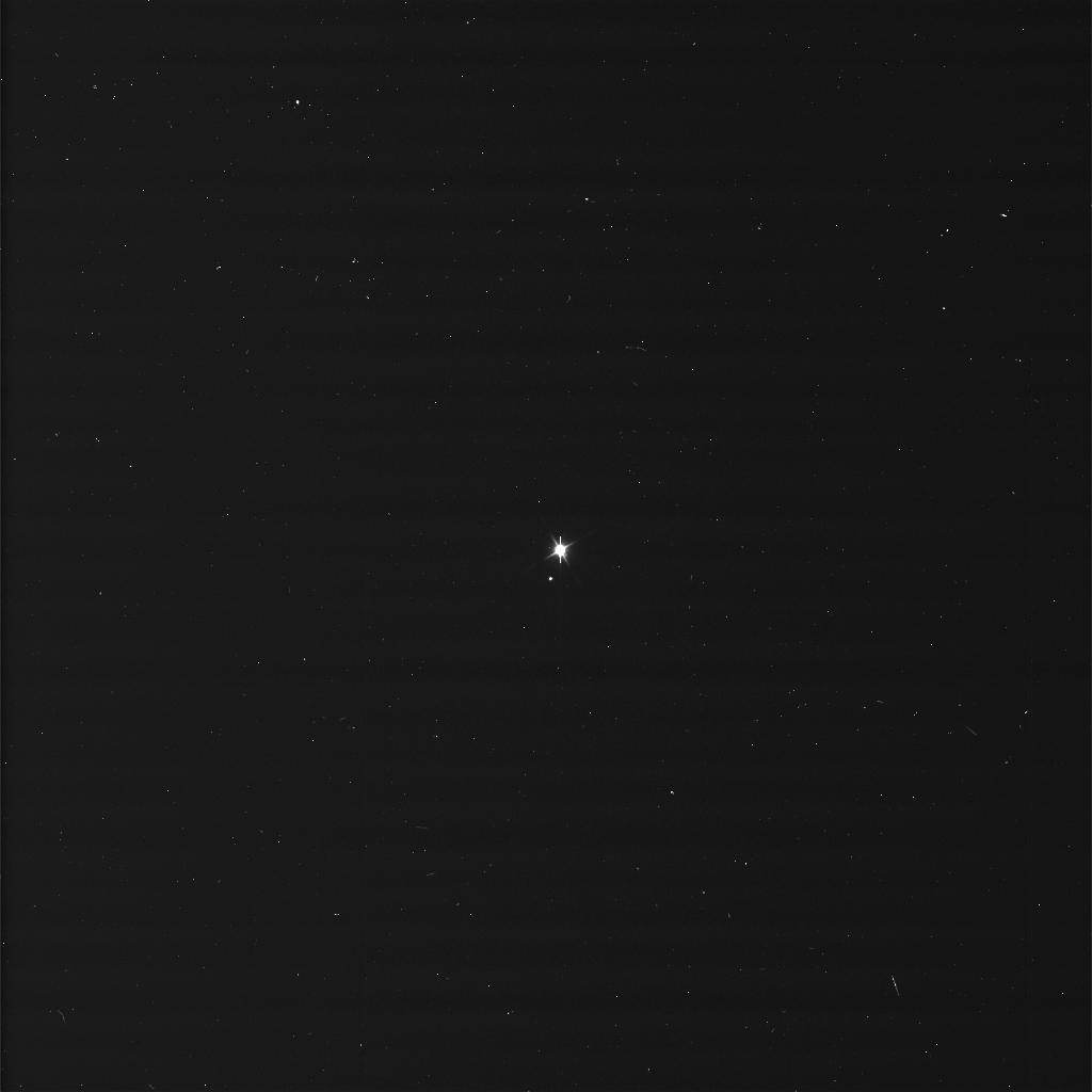 The Earth and the moon photographed by NASA's Cassini spacecraft on Jul. 19, 2013.