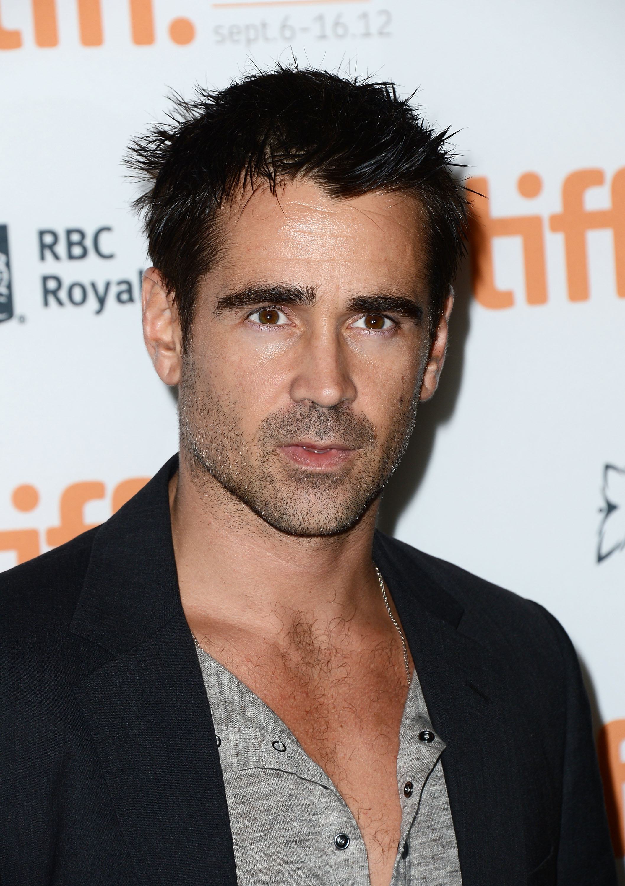 Actor Colin Ferrell attends  Seven Psychopaths  premiere during the 2012 Toronto International Film Festival at Ryerson Theatre on Sept. 7, 2012 in Toronto.