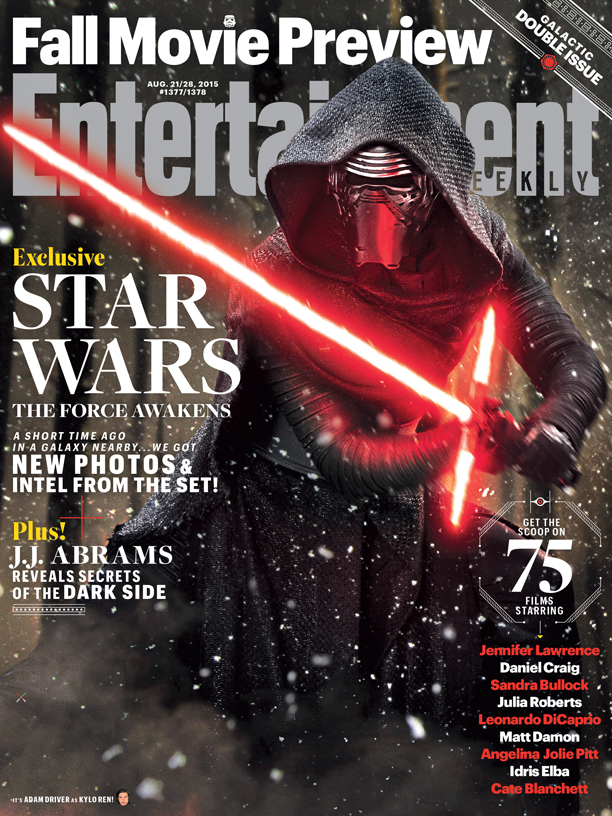 Entertainment Weekly Star Wars cover