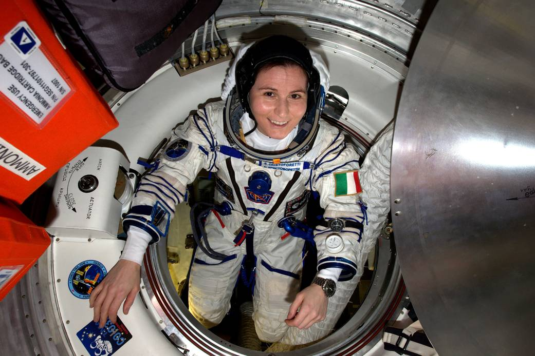 Homeward bound: Cristoforetti prepares for her departure from the space station in June