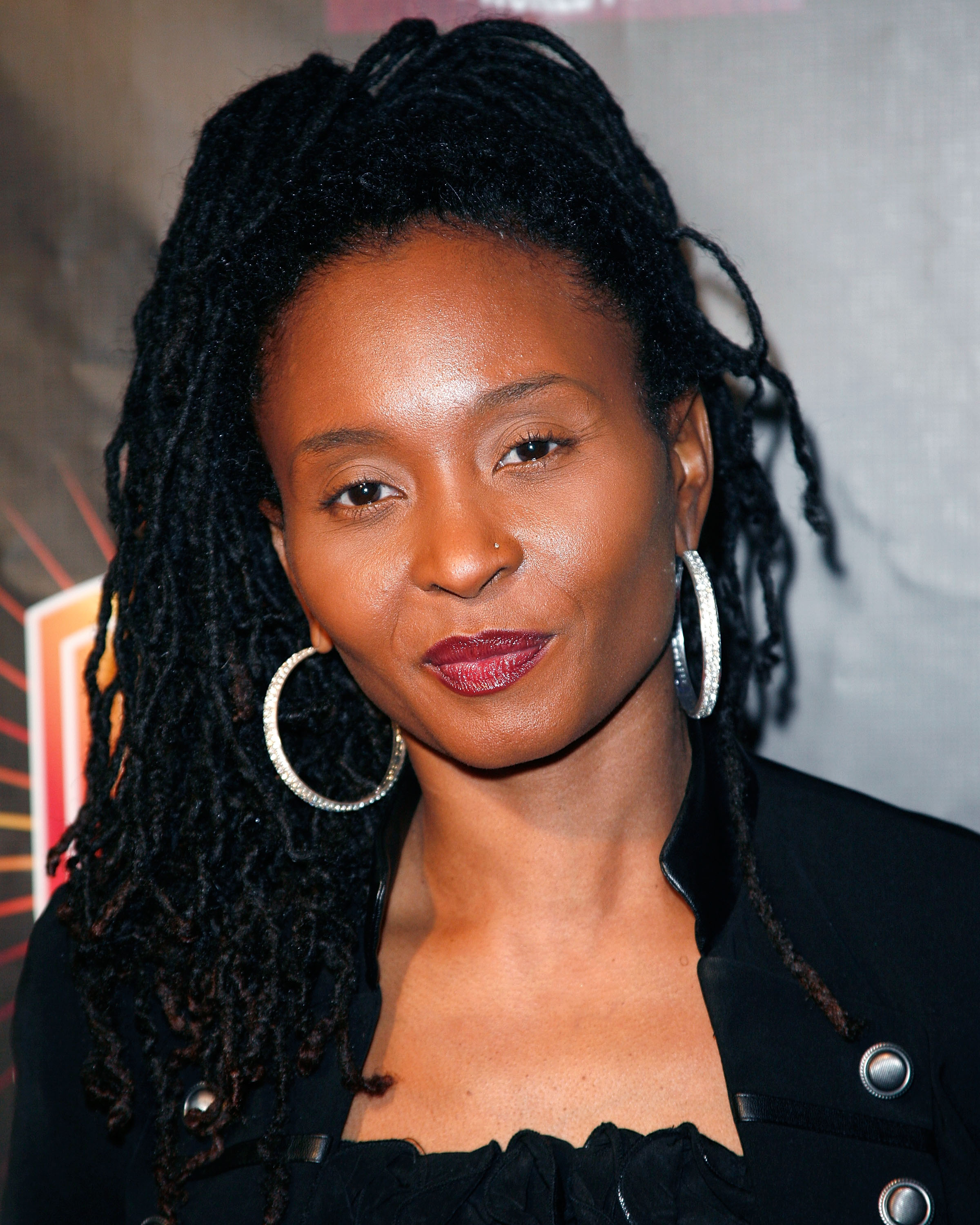 Rapper Dee Barnes arrives at the Luxury Book Launch of  Hip-Hop: A Cultural Odyssey  and the exhibit premiere at The GRAMMY Museum on Feb. 8, 2011, in Los Angeles.