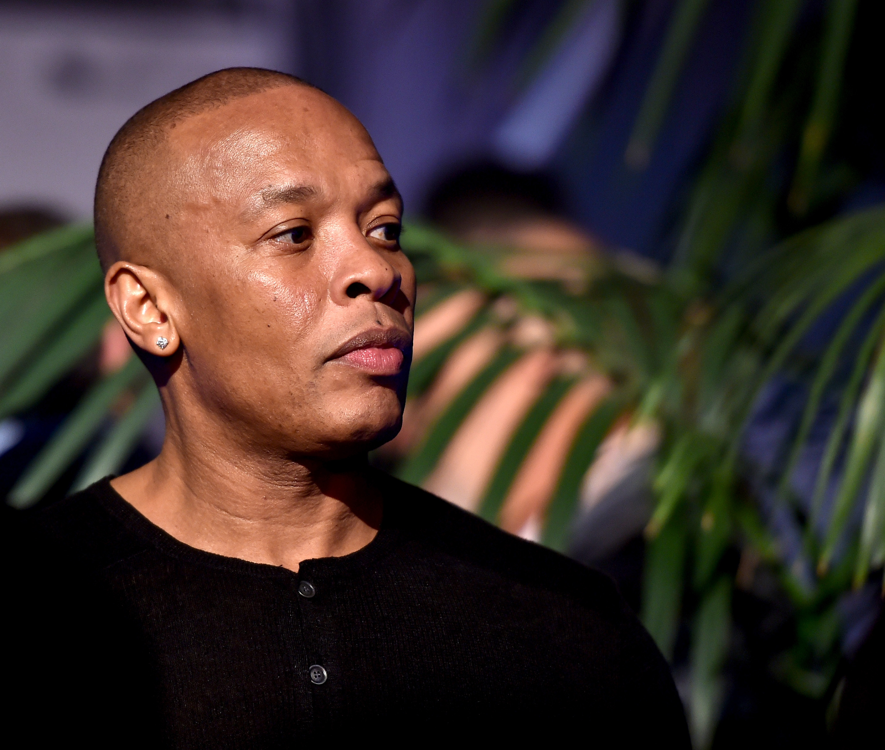 Dr. Dre at an after party on Aug. 10 for the  Straight Outta Compton  premiere.