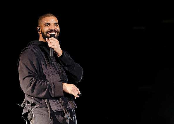 Drake performs at Squamish Valley Music Festival in Squamish, Canada on August 8, 2015.