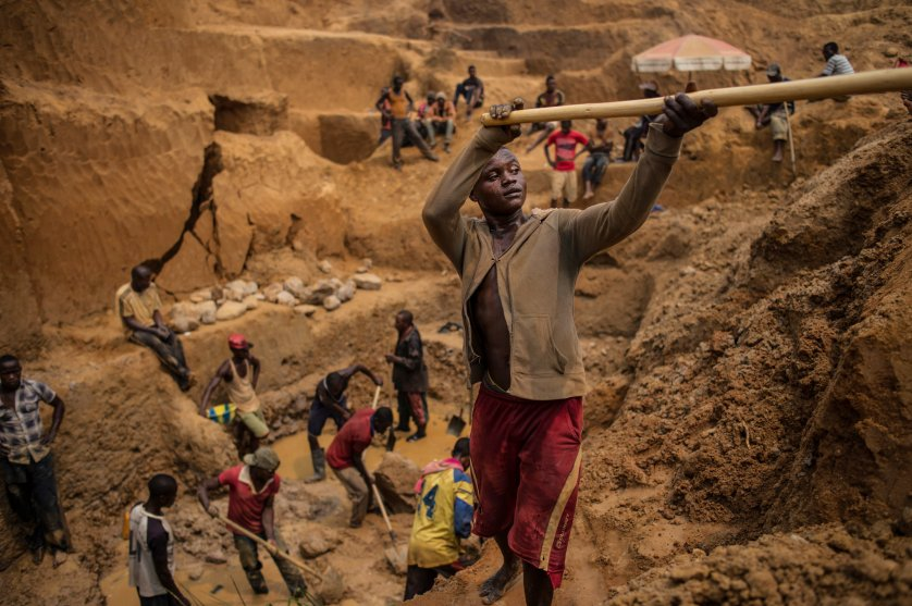 Diamond mining in the Democratic Republic of Congo