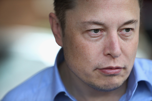 Elon Musk at the Allen & Company Sun Valley Conference in Sun Valley, Idaho on July 7, 2015.