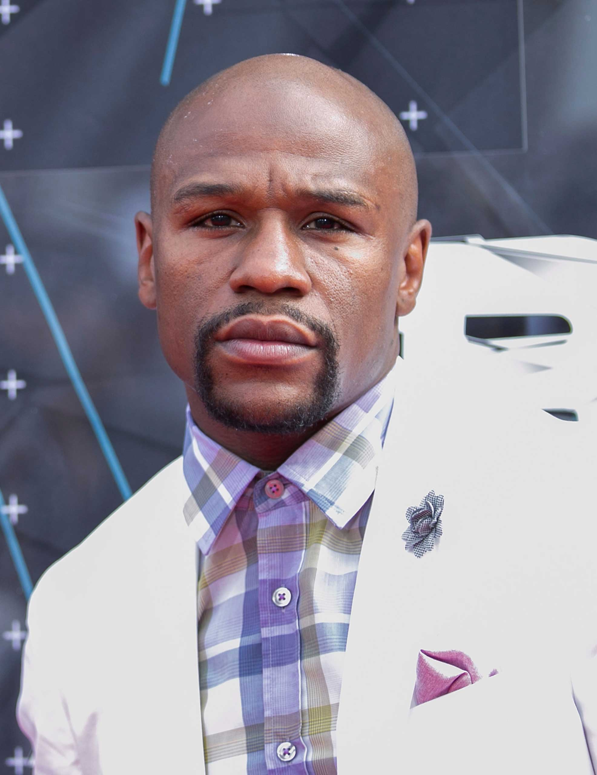 Professional Boxer Floyd Mayweather, Jr. attends the 2015 BET Awards on June 28, 2015 in Los Angeles,