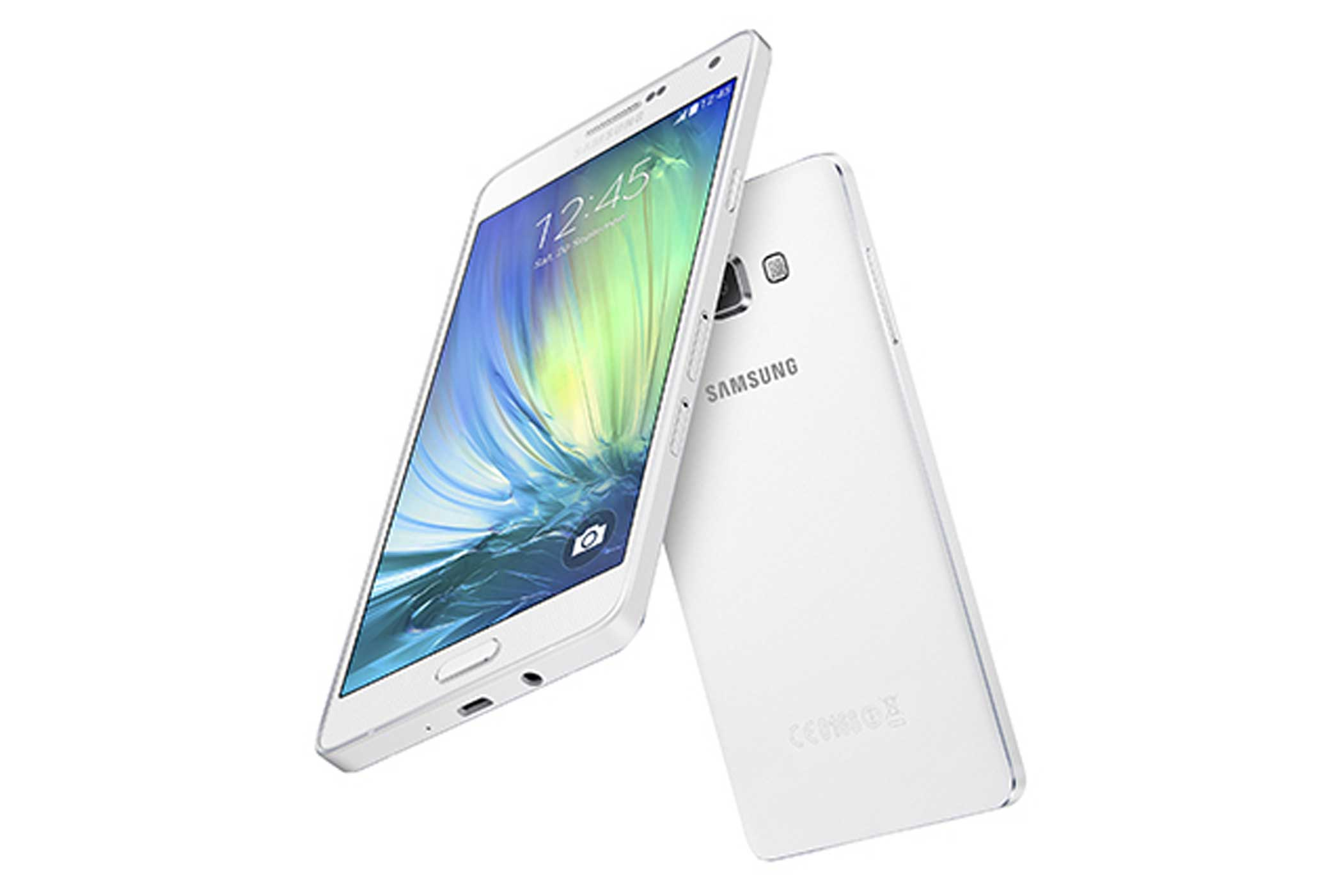 <b>Galaxy A7</b>: The mid-range Galaxy A7 doesn't have the specs to match the flagship Galaxy S6 but it's a sleek device that's only 6.3 mm thick and comes with a 5.5-inch display.