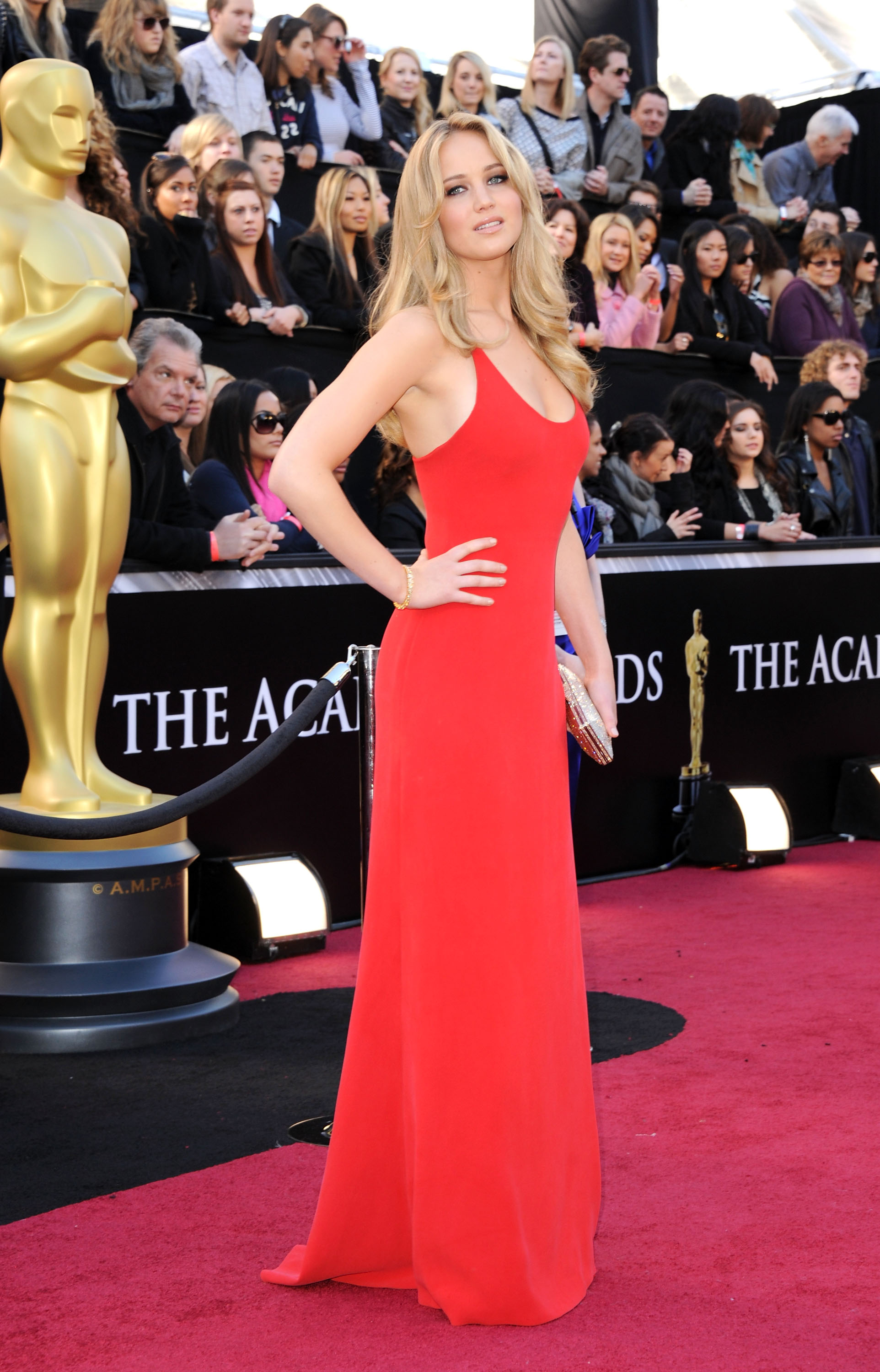 Jennifer Lawrence  at the 83rd annual Academy Awards on Feb. 27, 2011 in Los Angeles.